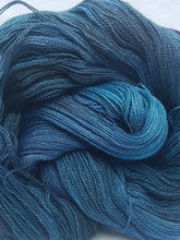 Load image into Gallery viewer, BFL/Silk Lace - Deep ocean