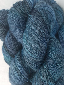 BFL/Silk Lace - Deep ocean