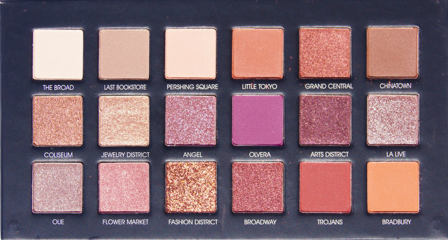 DOWNTOWN 18 COLOR EYESHADOW PALETTE