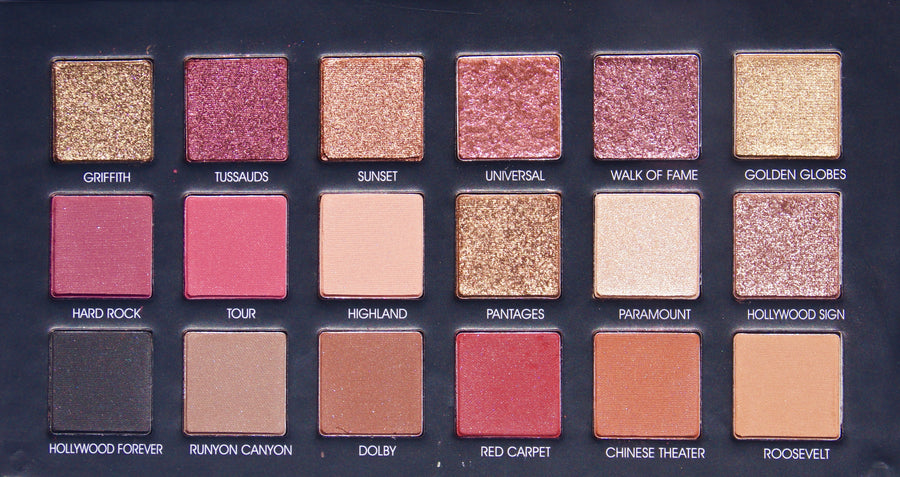 HOLLYWOOD 18 COLOR EYESHADOW PALETTE