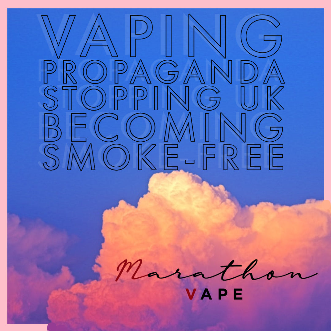 Vaping propaganda stopping UK becoming smoke-free