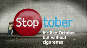 GIVING UP CIGARETTES FOR STOPTOBER?