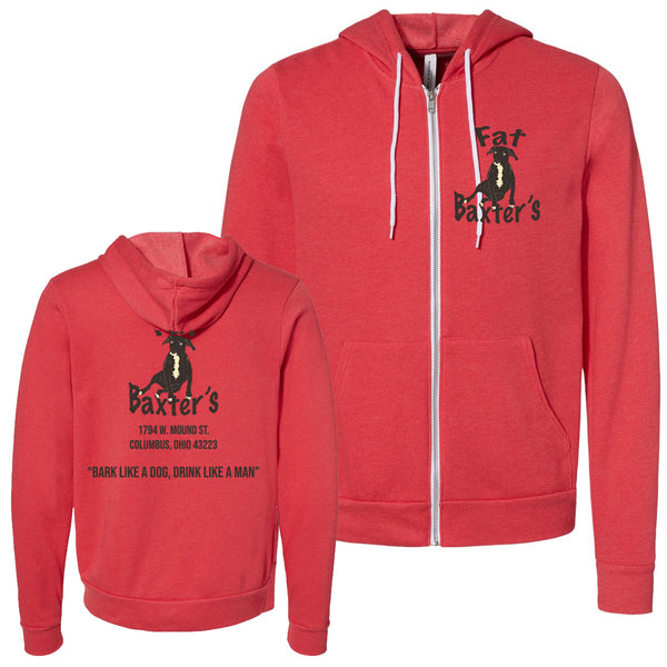 Fat Baxters - Bark Like a Dog - Zip Hoodie