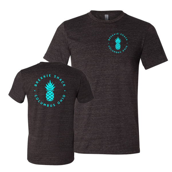 Brekkie Shack Teal Unisex Tri-Blend T-Shirt