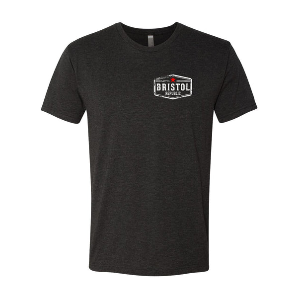 Bristol Republic Pocket Men's Tri-Blend T-Shirt
