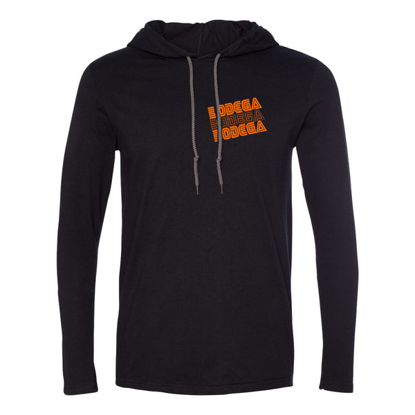 Bodega Retro Orange Unisex Thin Hoodie
