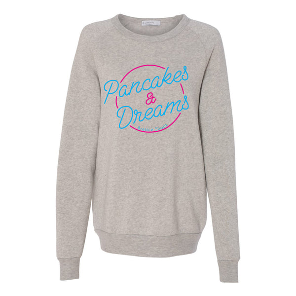 Pancake and Dreams Unisex Eco Crewneck