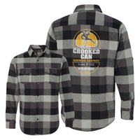 Crooked Can Logo Unisex Soft Flannel