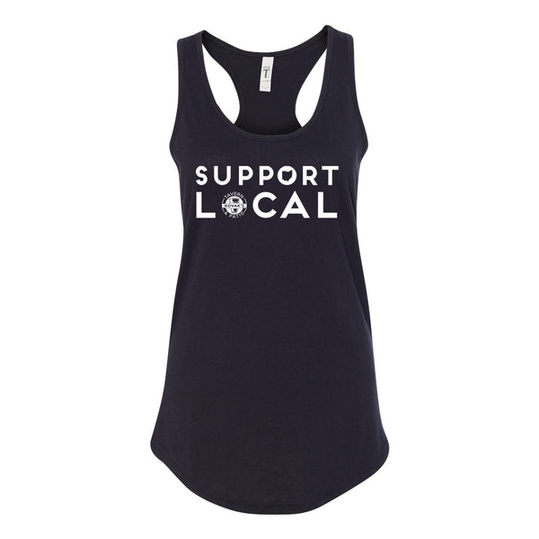 Novaks - Support Local - Racerback Womens Tank