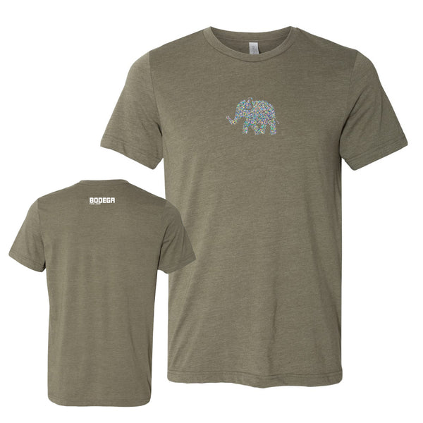 Bodega Elephant Men's Tri-Blend T-Shirt