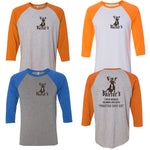 Fat Baxters - Practice Safe Six - Unisex Soft Blend Raglan
