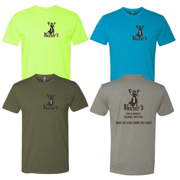 Fat Baxters - Bark Like a Dog - Unisex Soft Blend T-Shirt