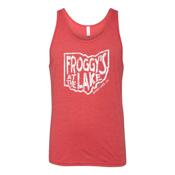 Froggys State Unisex Soft Blend Tank Top