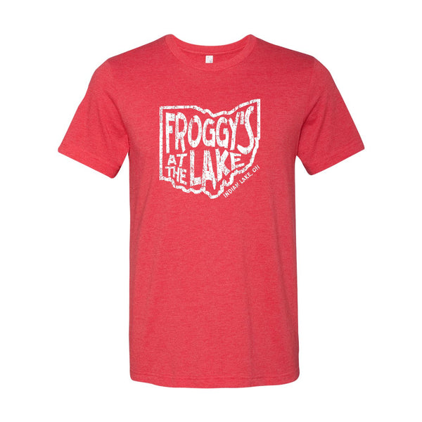 Froggys State Unisex Soft Blend T-Shirt