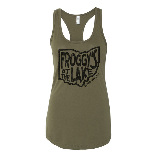 Froggys State Womens Racer Back