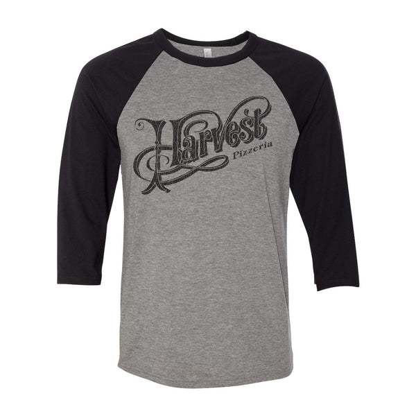 Harvest Pizzeria Raglan shirt