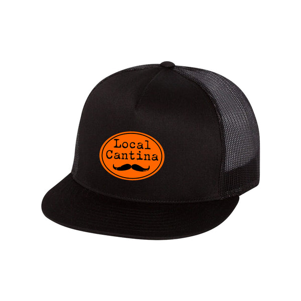 WS Local Cantina Trucker Hat Patch Snap Back