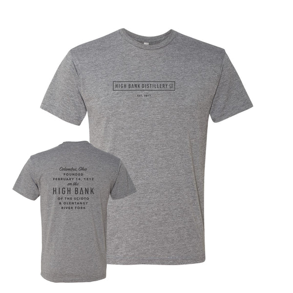 High Bank Gray Men's Tri-Blend T-Shirt