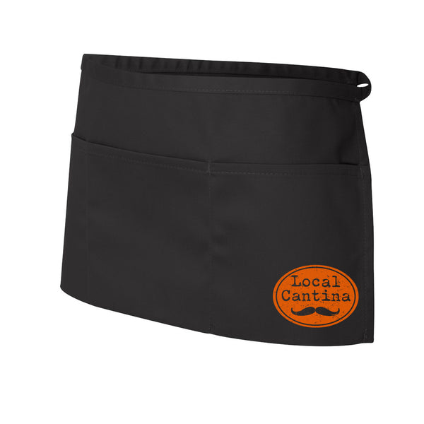 WS Local Cantina Logo - Half Pocket Patch Apron