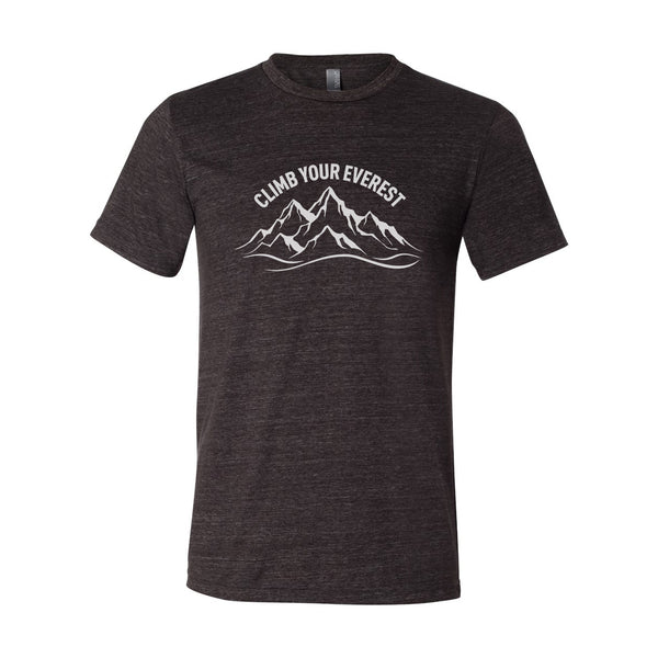 Climb Your Everest Men's Tri-Blend T-Shirt