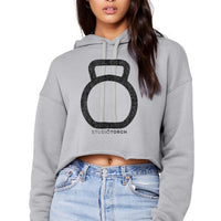 StudioTorch Bell Logo Womens Cropped hooide