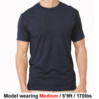 High Bank Men's Black Tri-Blend T-Shirt
