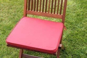 Terracotta Seat Pad Garden Chair Cushion 41x38x5