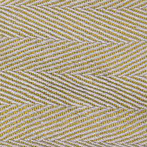 UK Gardens 130cm Chevron Throw Grey Yellow Recycled Textiles