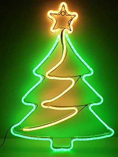 Christmas Decorations 64cm Outdoor Christmas Tree Light Neon Led Xma Uk Gardens Co Uk