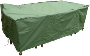 Extra Large Rectangular Patio Set Cover - Weatherproof Heavy Duty