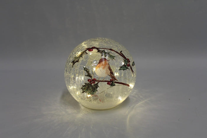 Robin 15cm Crackle Ball