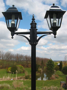Victorian Garden Lamp Post - Double