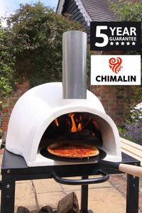 UK Gardens 66cm Natural Clay Traditional Pizza Oven Dome Design