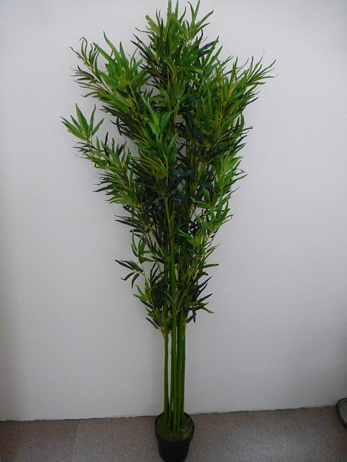 Artificial Plants - 1.9m 6ft Bamboo Artificial tree - Indoor Office House Plant