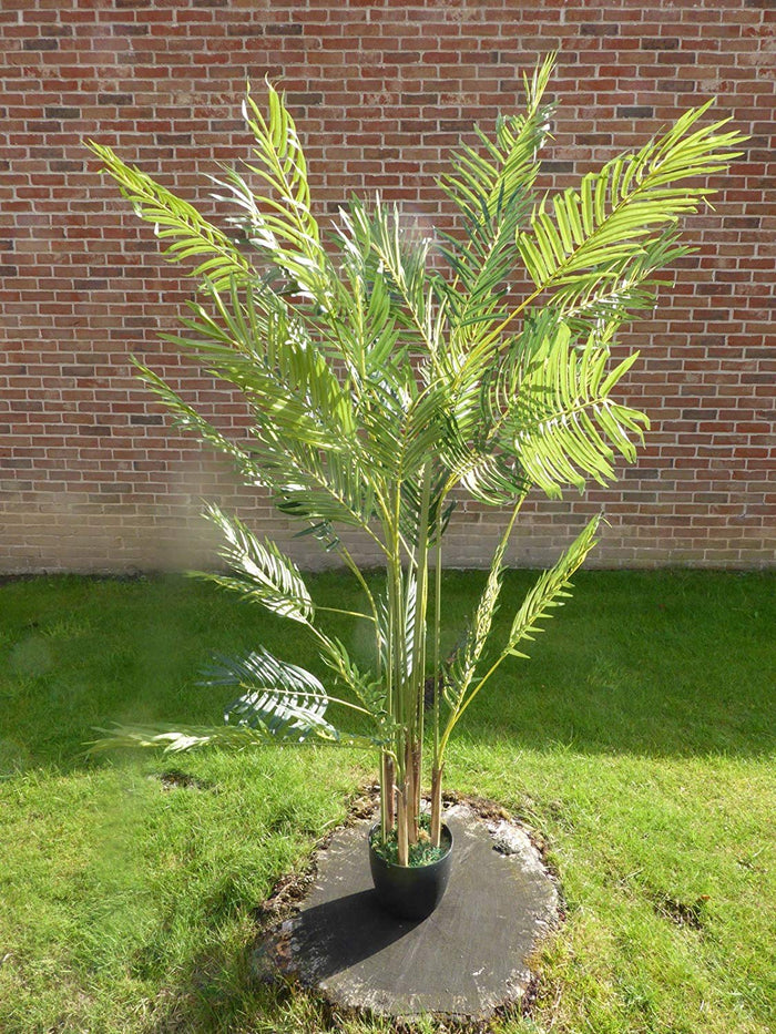 Large 5ft Green Artificial Palm Tree - 1.6m Artificial Palm Plant In a Pot