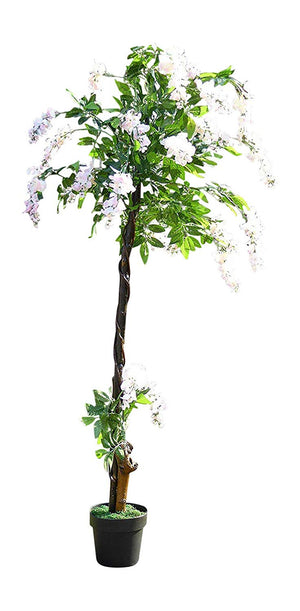 160cm 5ft PALE PINK Wisteria Tree Artificial Plants