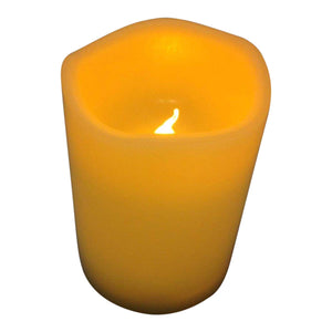Flickering Candle - Battery Operated Outdoor Candles With Timer - Small