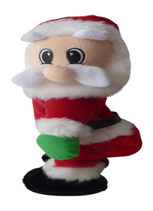36cm Twerking Santa Claus - Moving Dancing Animation Christmas Decoration Battery Operated