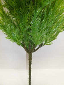 Artificial Plants - 80cm Large Green Cedar Conifer Cypress Stem Foliage Plant