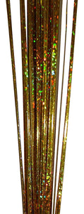 90cm GOLD Glitter Onion Grass