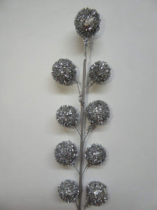 SILVER Bobble Stem