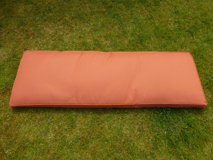 TERRACOTTA 3 Seater Bench Cushion 143x48x6