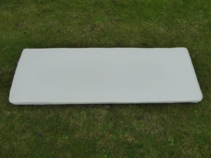Garden Furniture Cushion - Beige 3 Seater Bench Cushion For a Metal 3 Seater Garden Bench Or a Wooden Garden Bench 143x48x6cm