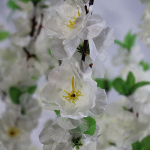 3ft WHITE PEACH Cherry Blossom Artificial Tree