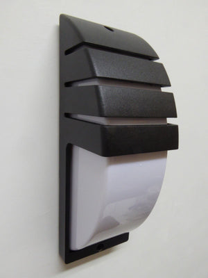 Black Wall Light Aluminium