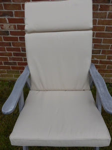 Beige Recliner Chair Cushion For Large Chair 116x48x6