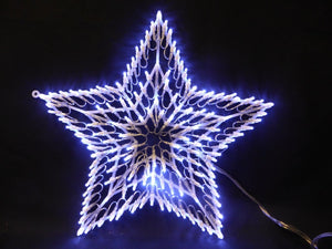 140 LED Chasing Window Light Star Christmas Lights Decoration Indoor Use Only