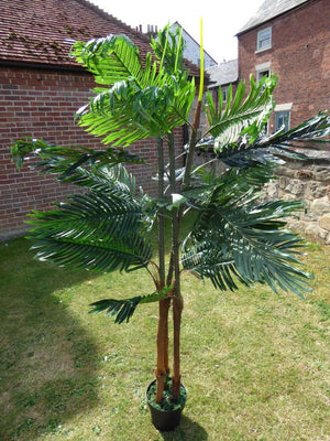 2M 7ft Artificial Kentia Palm Tree In A Pot - Artificial Potted Trees Plants
