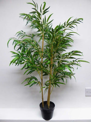 1m 100cm 3ft Artificial Golden Bamboo Tree In A Pot - Artificial Potted Trees Plants
