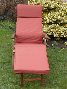 Garden Furniture Cushion - Terracotta Cushion For Garden Steamer Chair 184x48x6